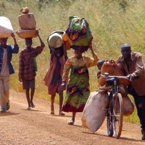 PEOPLE ON ROAD Africa