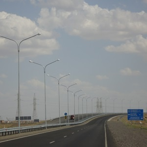 Highway in Kazakhstan