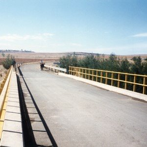 Main road bridge in Lesotho